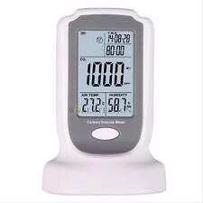 LCD Gas Carbon Dioxide Detector CO2 Monitor 0-2000ppm Temperature Humidity Meter