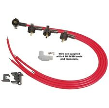 Msd 31689 Universal Spark Plug Wire Set Red Super Conductor 85mm New