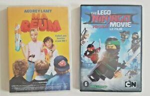 PACK ENFANTS - 2 DVD NEUFS ♦ MA REUM (AUDREY LAMY) + NINJA LEGO ♦