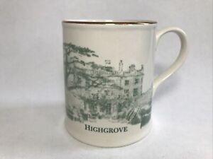 Highgrove Mug Prinknash Abbey Pottery From James Hart Dyke Drawing U.K. Royalty