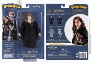 "Harry Potter Movie Official Hermione Granger Bendyfig 7"" Figure Bendable + Base"