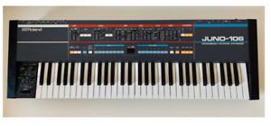 Roland JUNO-106 Analog Polyphonic Keyboard Synthesizer From Japan Used