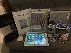 Apple iPad 4 - A1458, WiFi, White, Tablet, Bundle, NR, 99p, Charity, School