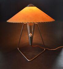 Mid Century 1950's Czech  Modernist Design Table Wall Lamp Helena Frantova