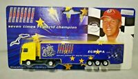 MSM - MICHAEL SCHUMACHER COLLECTION - F1 EUROPE 2005 - DIECAST LORRY A6192747