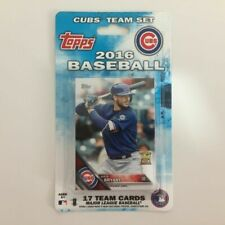 Chicago Cubs Topps 2016 Team Set 17 Cards