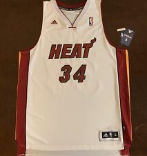 Rare Adidas NBA Miami Heat Jesus Shuttlesworth Ray Allen Basketball Jersey