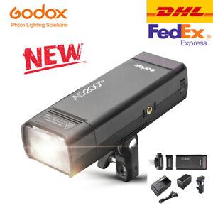 DHL Godox AD200Pro Version Pocket Flash Light 200W 2.4G TTL HSS 1/8000+ Battery