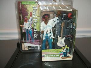 Jimi Hendrix Woodstock Action Figure 2003 McFarlane Toys, Factory Sealed