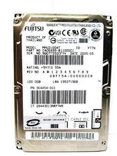 Fujitsu 100GB MHV2100AT CA06499-B11000C1 IDE Laptop Hard Drive - WIPED & TESTED