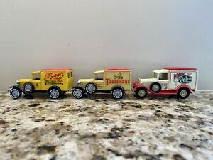 Lot Of 5 Matchbox Models Of Yesteryear 4 1981 1 1984 Ford Model A 1907 Taxi
