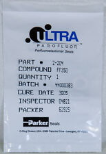 NEW Parker 2-204 FF350 Parofluor Ultra 2-204/75 White O-Ring ASM PN:60-122486A28