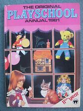 Vintage Playschool Annual 1981