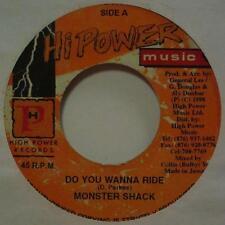 """Monster Shack (7"""" Vinilo)? quieres ir-Hi Power-Hp 0070-Jamaica-EX/en muy buena condición -"""