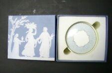 Wedgwood Bone China Venice Round Trinket Jewelry Box In Original Box!