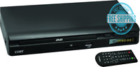 Coby CDV30 All Region Multi Zone DVD Player with USB/SD Input Media Player
