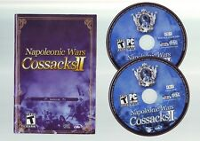COSSACKS II 2: NAPOLEONIC WARS - RTS STRATEGY PC GAME - FAST POST - WITH MANUAL