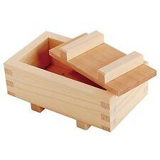 Yamako Wood Box Case Pressed Making Sushi Mold Oshizushi Maker M size Japan.