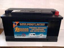 12V 110 Deep Cycle Premium Leisure Battery, Caravan, Motorhome, Boat, Marine