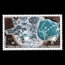 "TAAF 1979 - Airmail ""Kerguelen Satellite"" Space Tecnology - Sc C49 MNH"