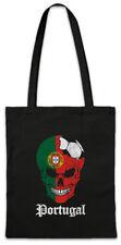 Portugal Football Skull I Shopper Shopping Bag portoguese Soccer Flag