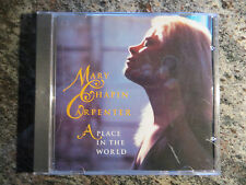Mary Chapin Carpenter (used cd) A Place In The World ~ Columbia M-