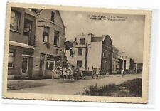1 postkaart Wenduine Wancourstraat in de kleine winst