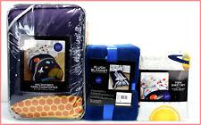 5 Pieces - NASA Comforter + Sheet Set + Blanket - TWIN
