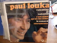 Paul Louka : Valentine And - C'Est Plus What's on The Aime - Barclay 71 38