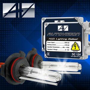 AUTOVIZION HID Xenon 55W Conversion Headlight Kit H1 H4 H10 H11 9005 9006 9007