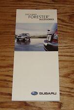 Original 2007 Subaru Forester Accessories Foldout Sales Brochure 07