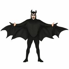 Adult Mens Gothic Vampire Bat Wings Fancy Dress Halloween Costume