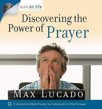 Discovering the Power of Prayer  by Max Lucado Christian Hardcover FREE SHIPPING