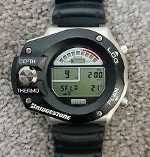 Bridgestone Dive Demo vintage scuba diving watch excellent condition new battery