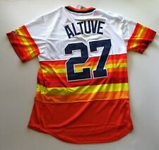 Jose Altuve # 27 Houston Astros Baseball Jersey Men Size M Free Shipping