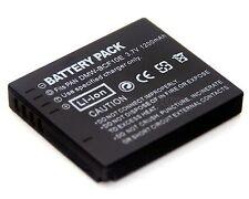 Battery for DMW-BCF10 Panasonic Lumix DMC-FH20 DMC-FH22 DMC-FP8 DMC-FS4 DMC-FS6