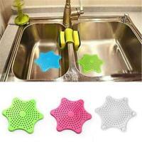 Pentagram Star Kitchen Sink Silicone Strainer Sewer Filter Bathroom Floor Drain
