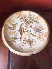 Beautiful Vintage Crown Ducal Ware Blushware Cake Plate AGR & Co Ltd