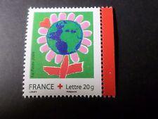 FRANCE 2006, timbre 3991, CROIX ROUGE, FLEUR DESSINS, neuf**; MNH RED CROSS