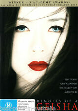 Memoirs Of A Geisha DVD BRAND NEW TOP 1000 MOVIE BEST CINEMATOGRAPHY ROMANCE R4