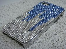 Blue Drops Bling Shiny Made with Swarovski Crystals Diamonds Case iPhone 5/5S