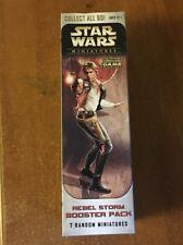 Star Wars Miniatures - Rebel Storm Booster Pack -New/Unopened-UK Seller