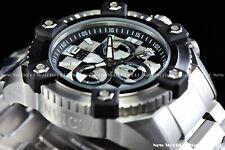 Invicta 63mm Reserve Grand Octane Mosaic Steel MOP Chess Onyx Swiss Mvt Watch
