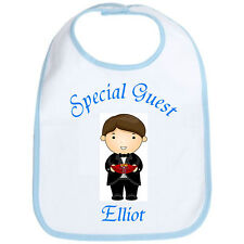 Personalised Wedding Baby Bib Ideal for Flower Girl / Page Boy / Bridesmaid GIFT