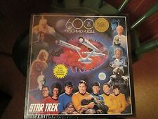 Star Trek 600 Piece Exquisit Puzzle By F.X. Schmid Sealed