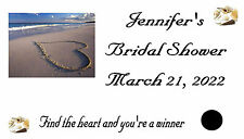 Wedding Bridal Shower Scratch Off Cards Favors 50 Qty.Personalized
