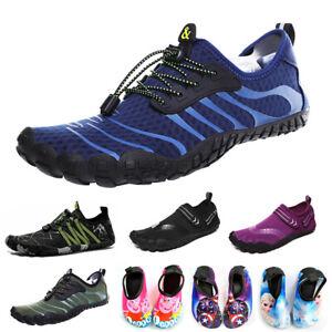Adult Kids Water Shoes Men Aqua Surf Beach Swim Wetsuit Non Slip Yoga Pumps Size