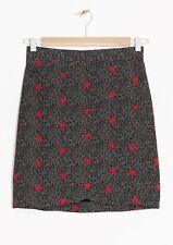& Other Stories Starlet Print Skirt – UK Size 8 – Eu 34 – New