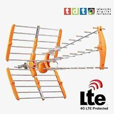 Antena exterior digital TV TDT HD con filtro LTE / DBT 4G