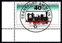 Berlin 489 Vollstempel gestempelt EST Ersttag mit Gummi Eckrand li. u.Briefmarke